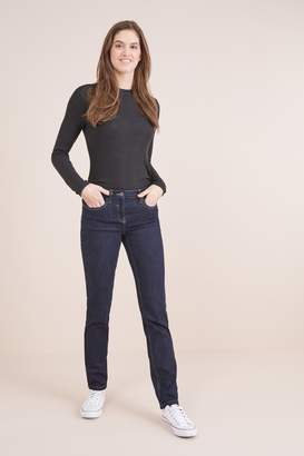 Next Womens Rinse Slim Jeans - Blue