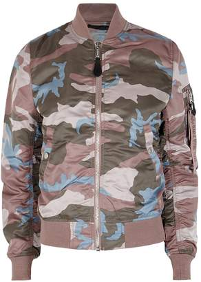 Alpha Industries MA-1 VF Camouflage-print Bomber Jacket