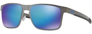 Oakley Polarized Holbrook Metal Prizm Sapphire Polarized Sunglasses, OO4123 55