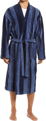 Majestic International Twilight Terry Velour Robe