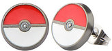 Pokemon Enamel Pokeball Stainless Steel Stud Earrings