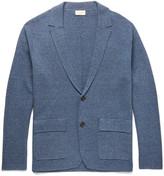 Club Monaco Slim-Fit Knitted Mélange Cotton Cardigan