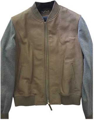 Louis Vuitton Beige Leather Jackets
