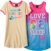 Girls 4-16 Jelli Fish Nightgown Pajama Set