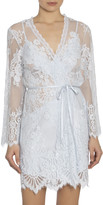 Jonquil Elena Short Lace Robe
