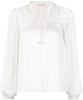 Ulla Johnson Emilda pleated blouse