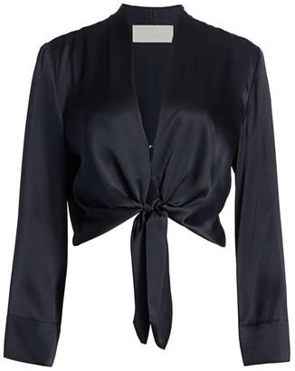 Mason by Michelle Mason Kimono Tie Blouse
