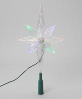 Kurt Adler LED Light Snowflake Tree Topper