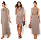 Serena Williams 2-piece Maxi Dress and Layering Top