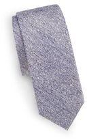 Saks Fifth Avenue Silk & Linen Tie