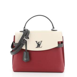 Louis Vuitton Lockme Grey Leather Handbags