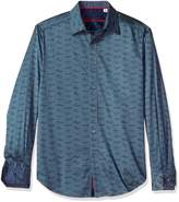 Robert Graham Men's Car Rally L/s Classic Fit Shirt