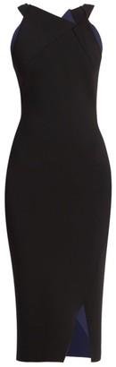 Roland Mouret Klint Sleeveless Knit Bodycon Dress