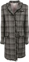 Thom Browne Windowpane Check Coat