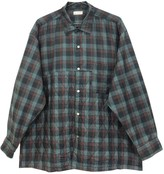 Comme des Garcons Green Polyester Shirts
