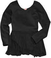 Capezio Future Star by Girls' or Little Girls' Long-Sleeve Skirted Leotard