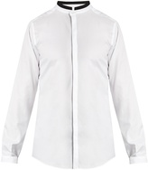 Dolce & Gabbana Mandarin-collar cotton shirt