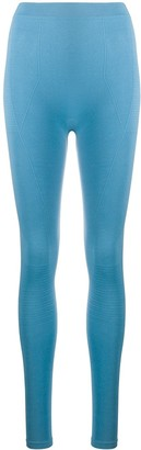 Rick Owens Performa contrast panel leggings