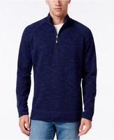 Tommy Bahama Men's Reversible Slub Half-Zip Sweatshirt