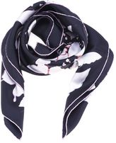 Valentino Butterfly Scarf