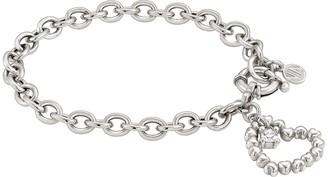 Nomination Rock in Love Bracelet w/Heart Pendant
