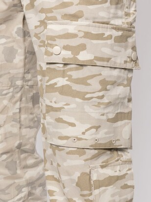 Stampd Camouflage Cargo Trousers