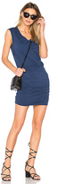 Velvet by Graham & Spencer Bardot Dress in Navy. - size L (also in XS)