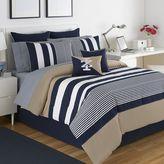 Izod Classic Stripe Reversible Comforter Set
