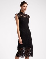 Cynthia Rowley Lace Fitted Dress