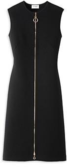 St. John Zip Front Sweater Dress
