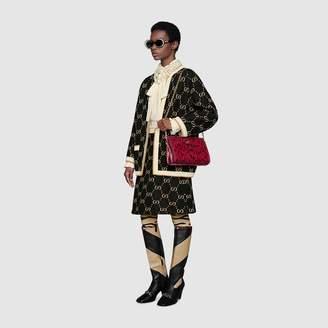 Gucci GG wool knit skirt