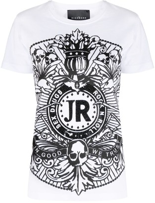 John Richmond graphic-print cotton T-shirt