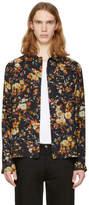 McQ Black Floral Nick Shirt