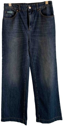 ALEXACHUNG Alexa Chung Blue Cotton Jeans for Women