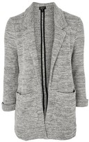 Topshop Jersey Mix Knitted Jacket