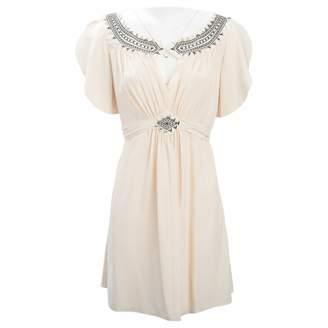 ALICE by Temperley Beige Silk Dresses