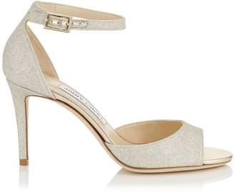 Jimmy Choo Annie 85 Glitter Sandals