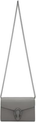Gucci Grey Dionysus Chain Wallet Bag