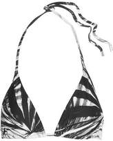 Orlebar Brown Nicoletta Fronds Triangle Bikini Top