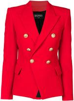 Balmain double breasted blazer - women - Viscose/Cotton - 38