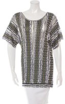 M Missoni Striped Knit Tops