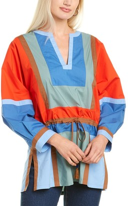 Tory Burch Colorblocked Tunic
