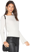 360 Sweater Eugenie Bell Sleeve Sweater