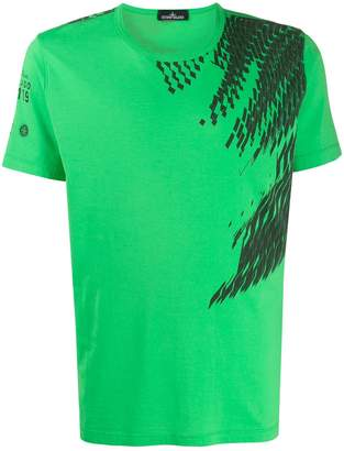 Stone Island Shadow Project abstract print T-shirt