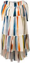 Sonia Rykiel Multicolor Striped Dress