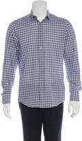 Lanvin Plaid Woven Shirt