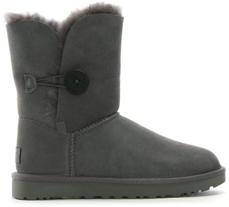 UGG Bailey Button II Grey Twinface Boots