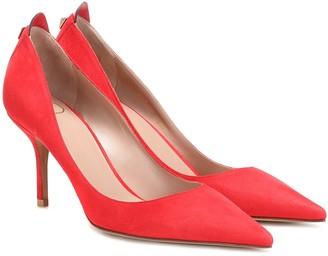 Valentino Garavani embellished suede pumps