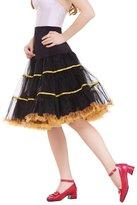DaisyFormals® Women's Vintage Petticoat 50s Puffy Tutu Underskirt šC 4 Colors