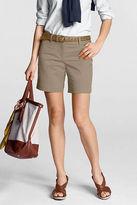 Lands' End Women's Regular Fit 2 7 Chino Shorts